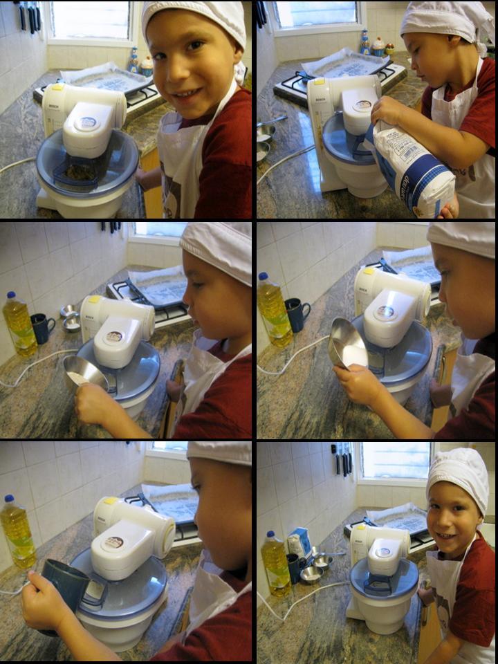 הכנת הבצק