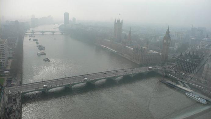 לונדון מבט מלמעלה