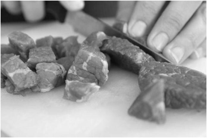 קוביות בשר בקר לצלי