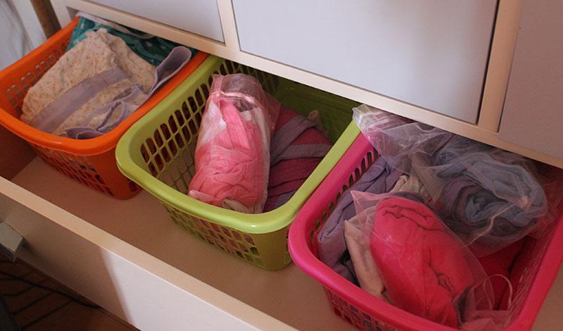 מגירות בגדים